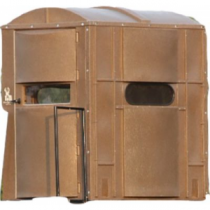 Boss Buck Comfort Zone 4X6 Tower Blind - Clear