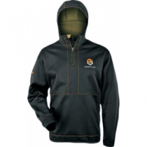 Scent-Lok ScentLok Men's Reticle Hoodie - Black/Black/Graphite (LARGE)