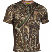Under Armour Waterfowl Nutech Short-Sleeve Shirt - Realtree Max-5 (XL)