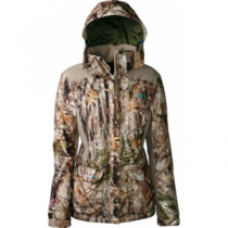 904e38851b68a Cabela's Women's OutfitHER Insulated Jacket with ScentLok - Zonz Woodlands  'Camouflage' (MEDIUM)