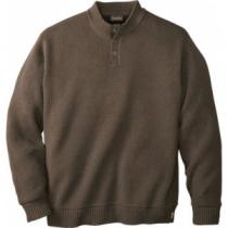Cabela's Men's Waterfowl Fatigue Sweater with 4MOST Windshear - Dark Mushroom (2XL)