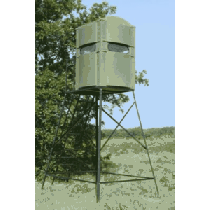 Boss Buck Comfort Zone 4x4 Tower Blind - Clear