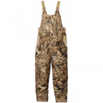 Hard Core Men's Omega Insulated Bibs - Realtree Max-5 (LARGE)