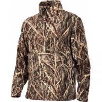 Drake Men's MST Camp Fleece Pullover - Mo Shdw Grass Blades 'Camouflage' (MEDIUM)