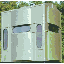 Boss Buck Comfort Zone 4x6 Combo Tower Blind - Clear