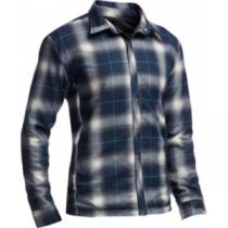 Icebreaker Men's Helix Long-Sleeve Reversible Shirt - Black/Admiral (SMALL)