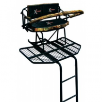 X-Stand Treestands Big Bubba 16-ft. Ladder Stand - Camo