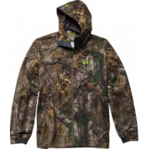 Under Armour Gore-TEX Essential Rain Jacket - Realtree Xtra 'Camouflage' (LARGE)