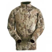 Kryptek Men's Vahalla Long-Sleeve 1/4-Zip Top - Kryptek Highlander (SMALL)