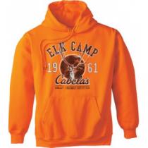 Cabela's Men's Blaze Elk Camp Hoodie 'Orange' (3XL)