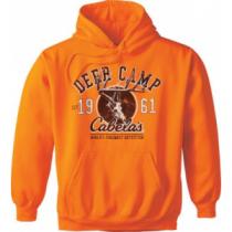 Cabela's Men's Blaze Deer Camp Hoodie 'Orange' (MEDIUM)