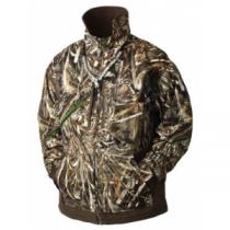 DrakeWaterfowl Men's MST Waterfowl Fleece-Lined Full-Zip 2.0 Jacket - Realtree Max-5 (LARGE)